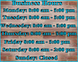 business Hours Auto repair shop San Diego